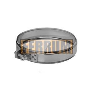 Хомут обжимной ∅ 250 (нерж. 430/0,5 мм) FERRUM