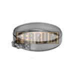 Хомут обжимной ∅ 197-200 (нерж. 430/0,5 мм) FERRUM