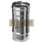 Шибер поворотный ∅ 115 (нерж.0,8 мм ) FERRUM