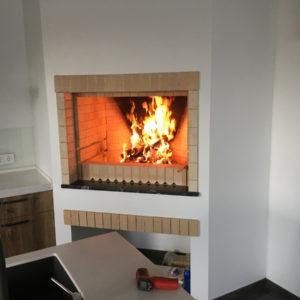 Бесплатный проект домашнего кирпичного мангала